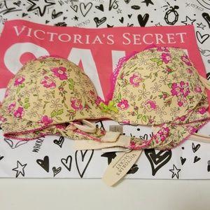 Victoria secret padded demi bra